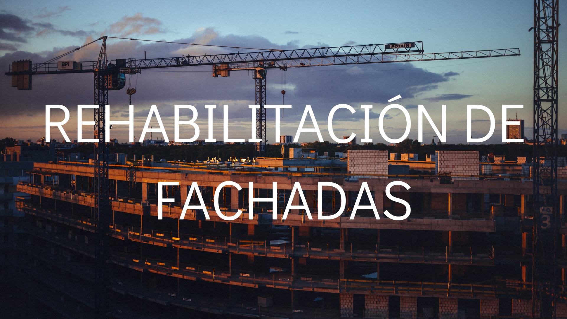 Rehabilitación fachadas Cádiz