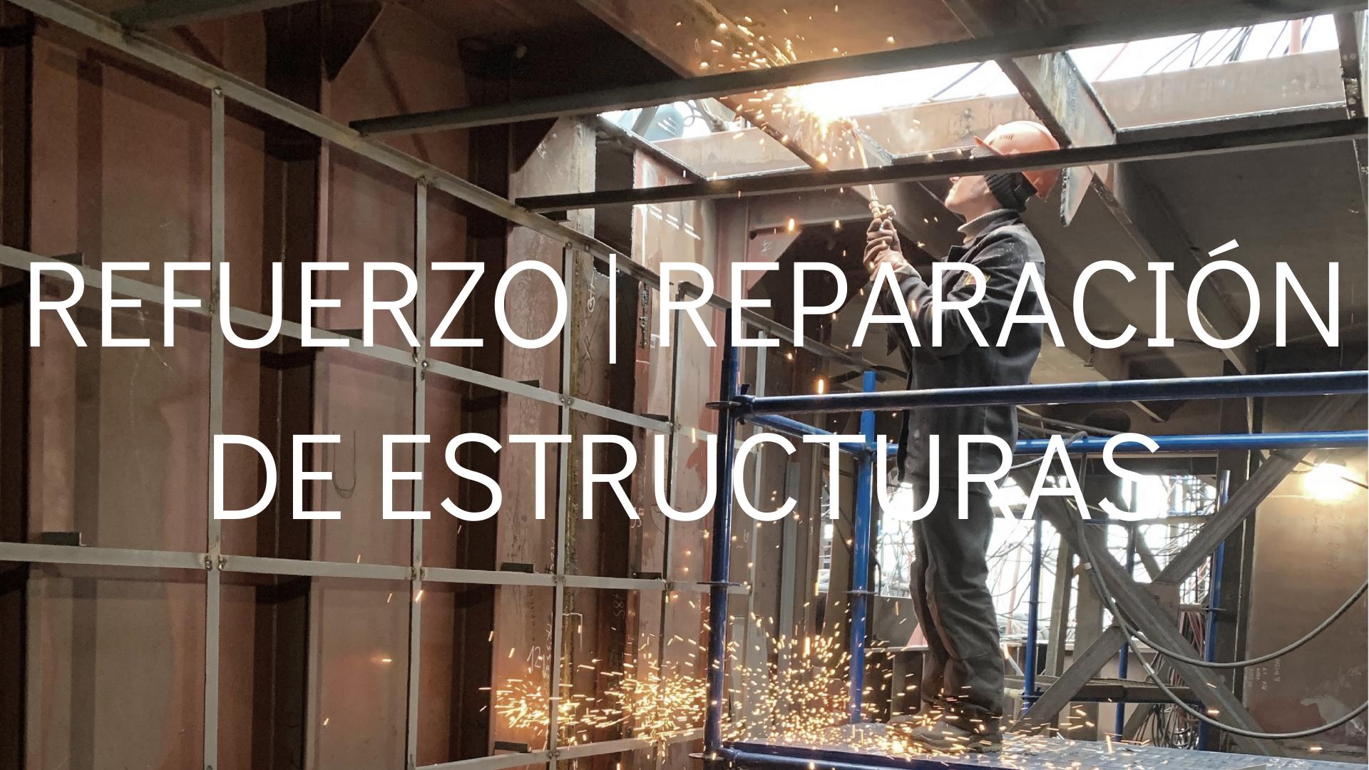refuerzo reparacion de estructuras