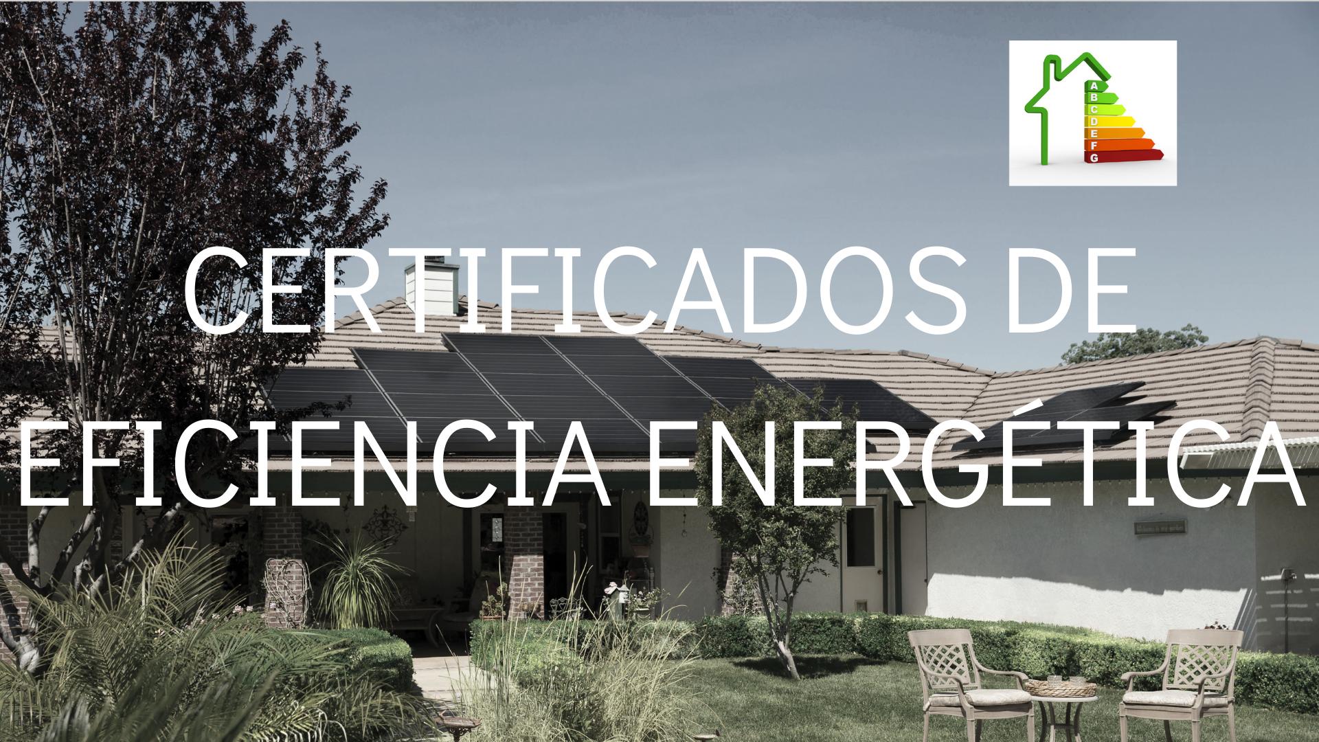 Certificado de eficiencia energética Cádiz